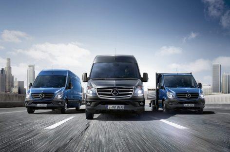 Новый Mercedes-Benz Sprinter