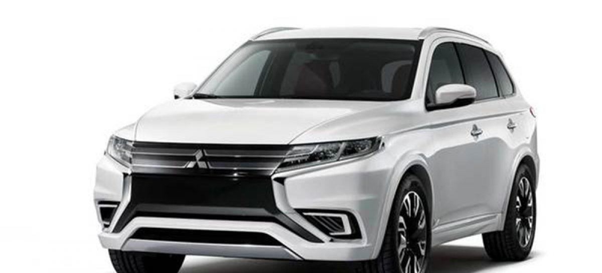 Новый гибридный концепт от Mitsubishi — Outlander PHEV Concept-S