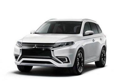 Новый гибридный концепт от Mitsubishi – Outlander PHEV Concept-S
