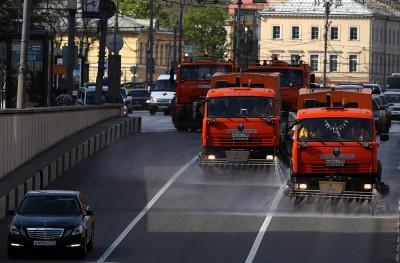 Московские поливальные машины