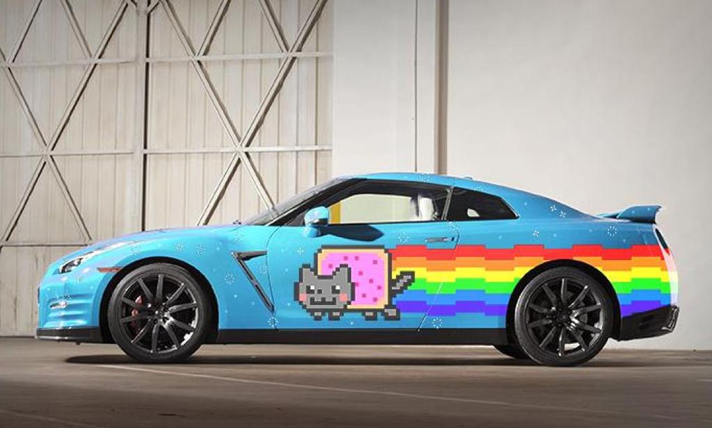 Nissan Nyan Cat GT-R