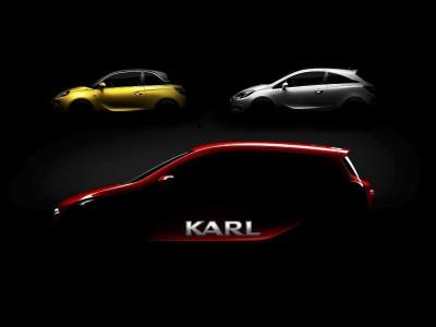 Opel Karl, Opel Adam, Opel Corsa