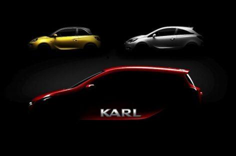 Новый маленький автомобиль с большим именем: Opel представил Opel Karl