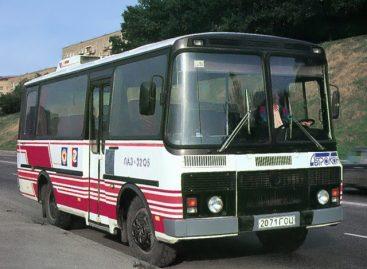 Первый в мире городской автобус с несущим пластиковым кузовом