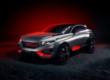 Peugeot готов представить новый необычный концепт — Peugeot Quartz
