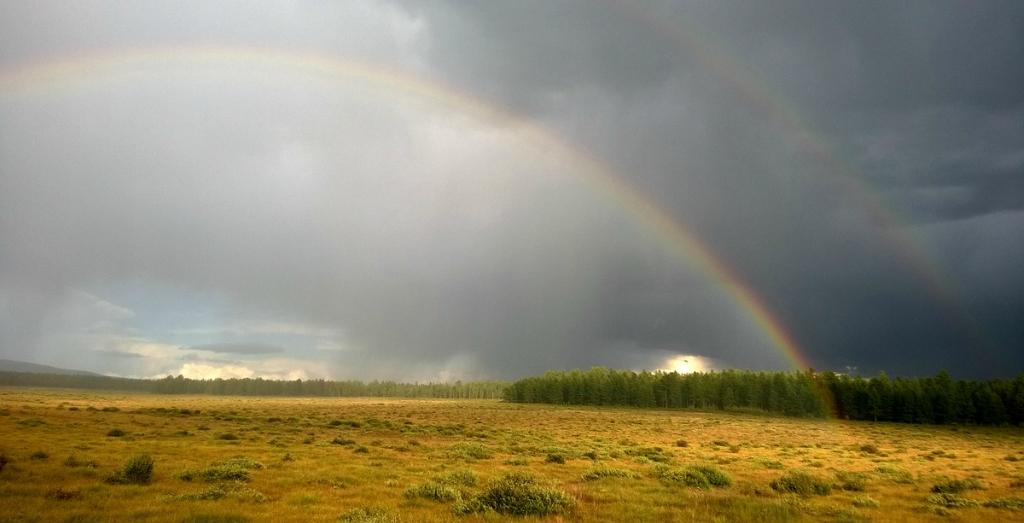 Погода в Монголии переменчива