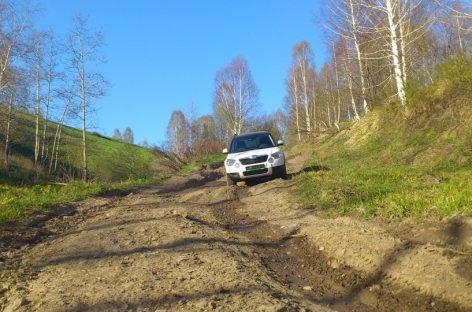 В Пермском крае пенсионера оштрафовали за положенные на разбитую дорогу доски