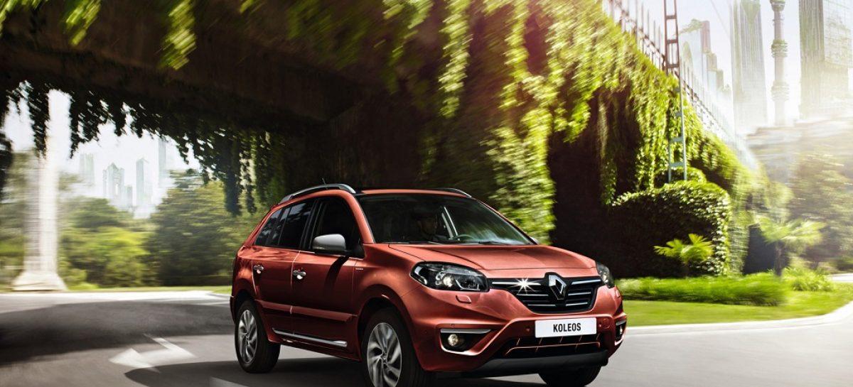 В России начались продажи Renault Koleos Sport Way