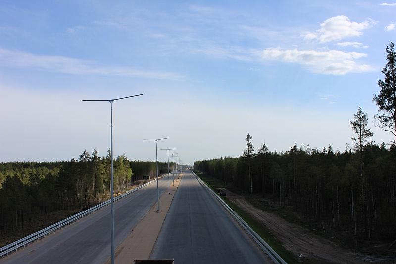 Трасса М11 Москва - Санкт-Петербург