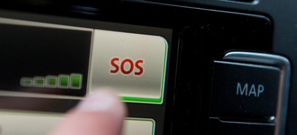 К 2016 году каждый автомобиль оборудуют тревожной кнопкой