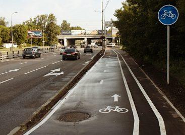 Минтранс обязал делать вдоль правой обочины дорог велодорожку