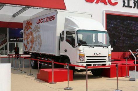 Китайский производитель JAC разработал первый электрический грузовик