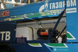 Газовое оборудование гоночного КАМАЗа