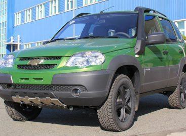 Chevrolet NIVA Special Edition цвета «Тундра»