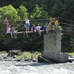 Наша компания на водопадах