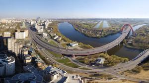 Автомобильные мосты в Хорошево-Мневники