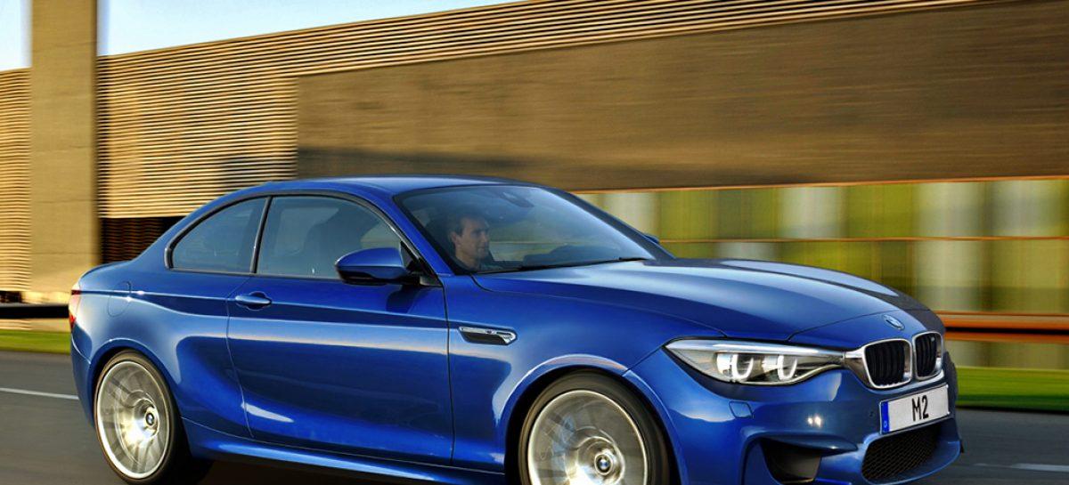 BMW M2 2015 – купе легкое и мощное