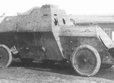 В 1914 году военные бронированные Руссо-Балты С24/40 были подготовлены за 2 месяца