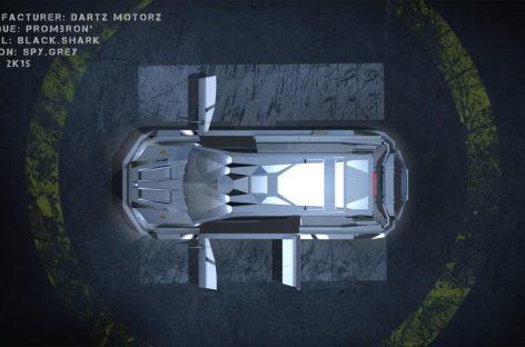 Новый броневик Dartz Motorz Black Shark сканирует сетчатку и снимает отпечатки пальцев