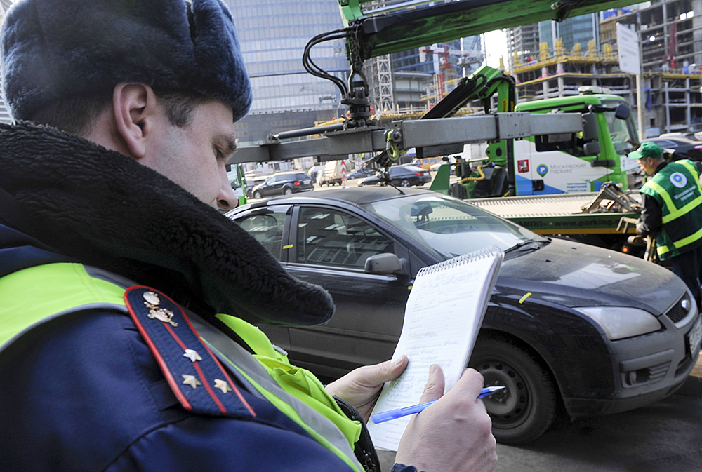 Паркмен Дмитрий Афанасьев был арестован на пять суток