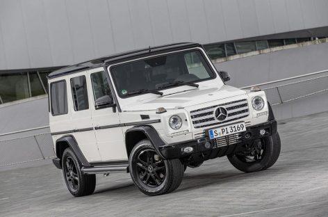 Mercedes-Benz отмечает День рождения Gelandewagen выпуском спецсерии Edition 35