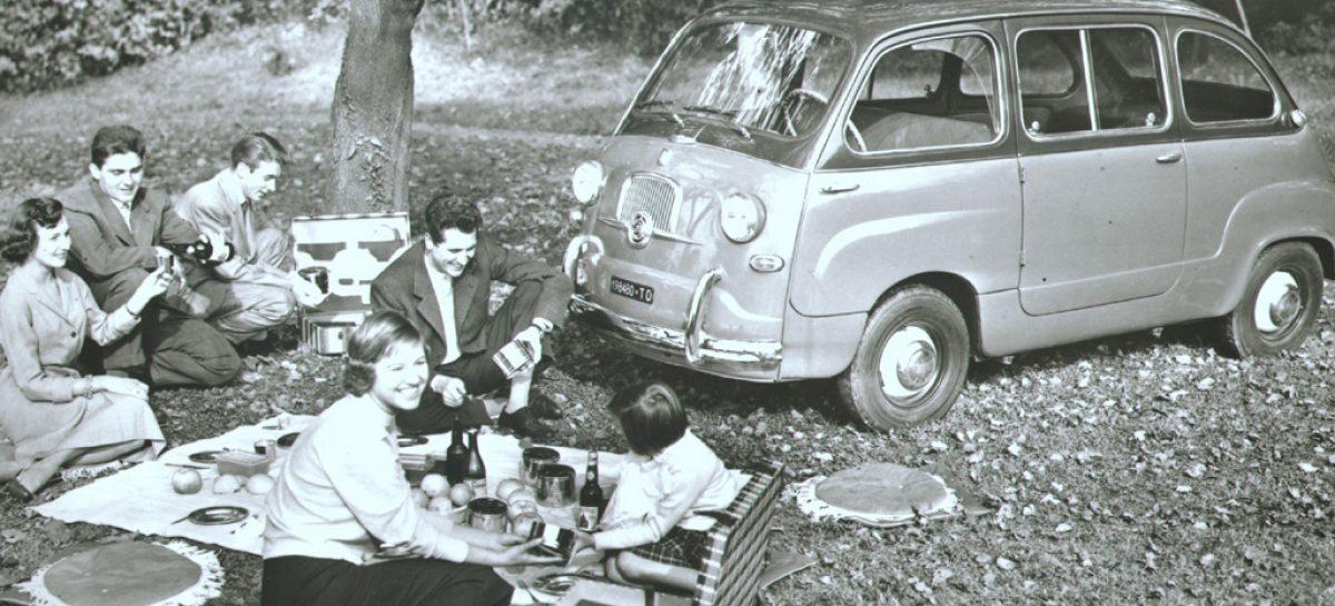 FIAT 600 Multipla – первый в мире микровэн