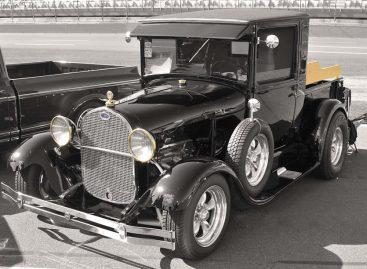Безопасное автомобильное стекло впервые появилось на Ford-A 1928 года