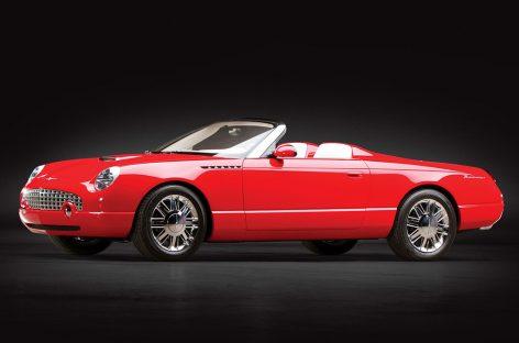 Ford Thunderbird Sports Roadster Concept – один из редчайших коллекционных концептов