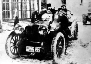 Гоночный Руссо Балт, 1913