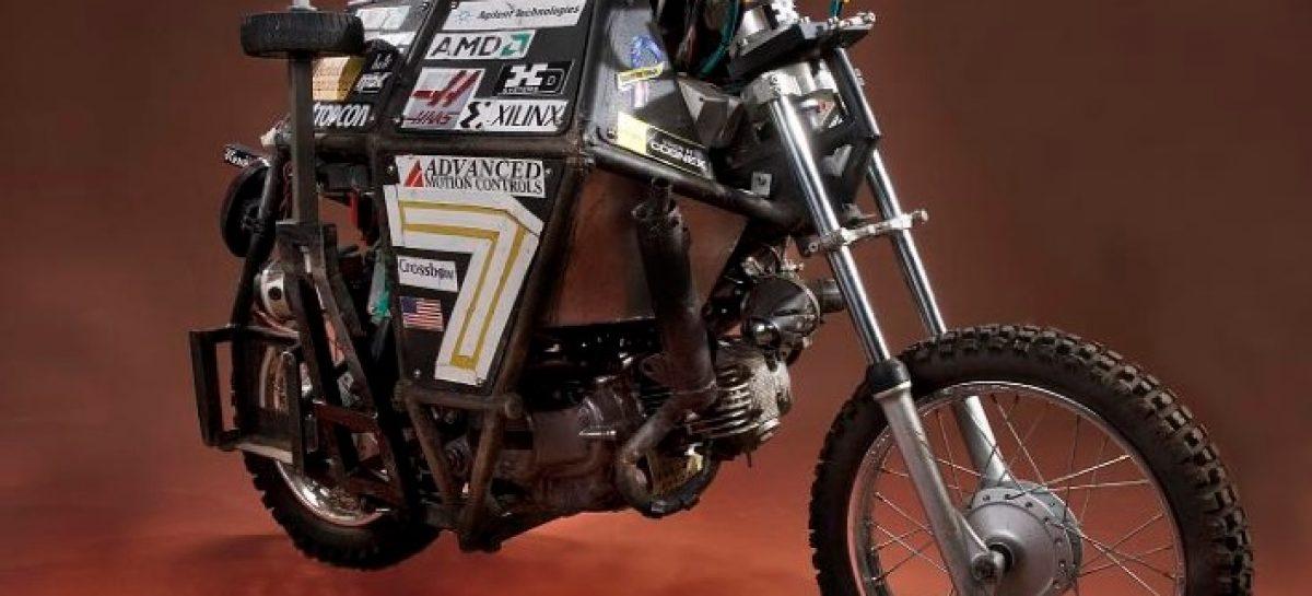 Google приступает к работе над беспилотным мотоциклом