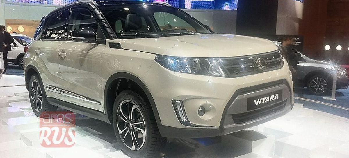 Suzuki Vitara возвращается