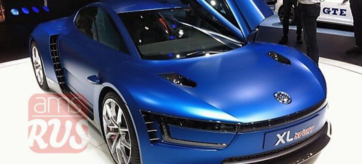 Спорткар Volkswagen экономит топливо