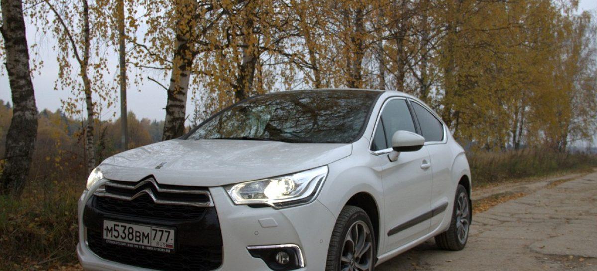 Неделя с француженкой – по Калужской области на Citroen DS4 Spot Chik HDi 160