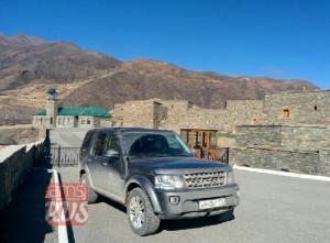 Автопутешествие на Land Rover SK4 по Чечне