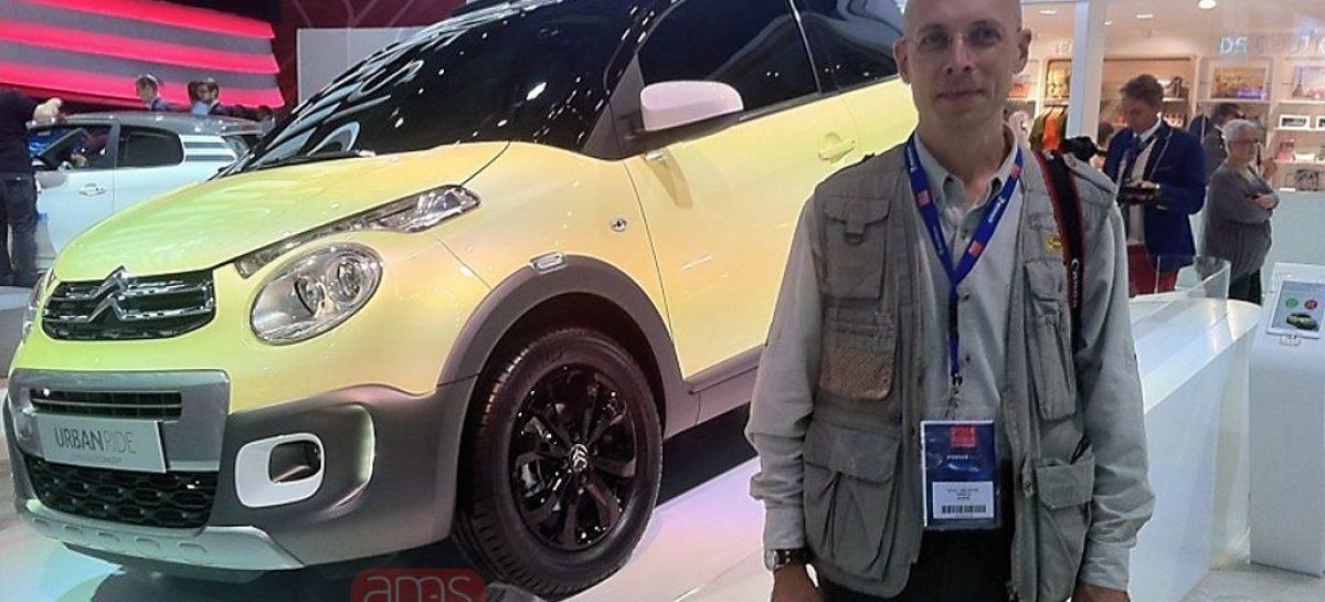 Хэтчбек Citroen C1 стремится на бездорожье