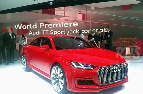 Audi TT стала пятидверной