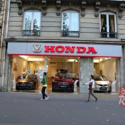 Париж. Honda