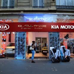 Париж. KIA Motors