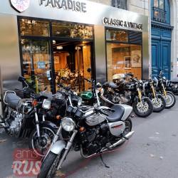 Париж. Салон мотоциклов Paradise