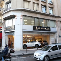 Париж. Lexus