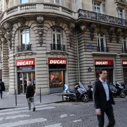 Париж. Ducati