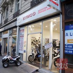 Париж. Kymco