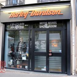 Париж. Harley-Davidson