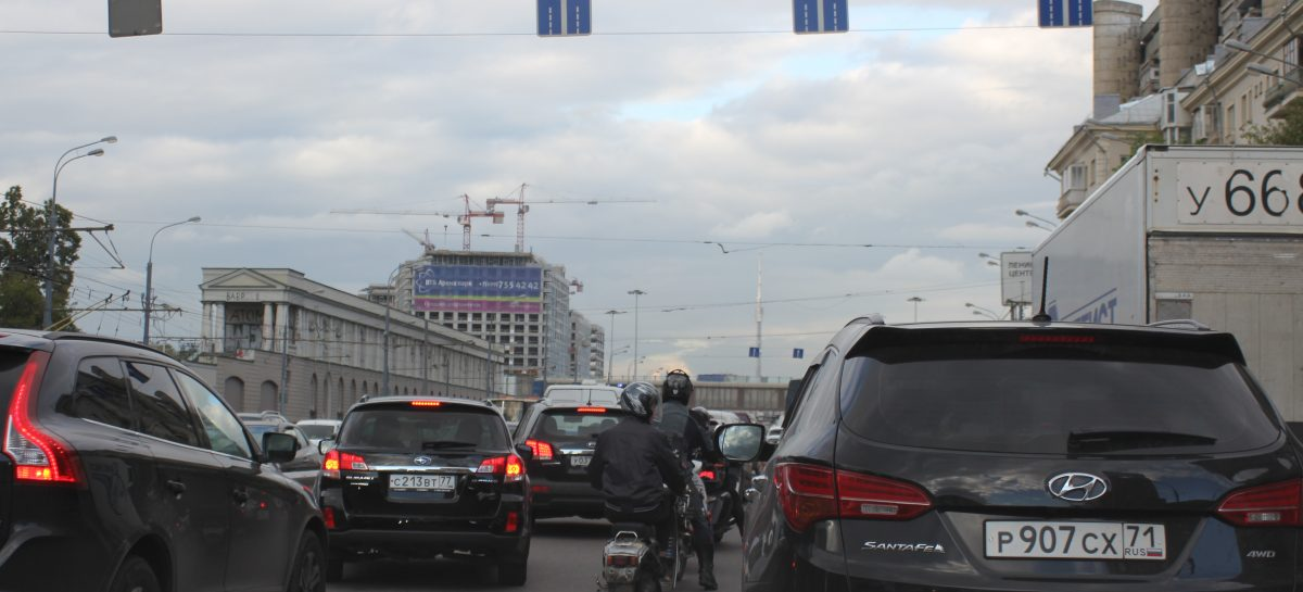 Провинциальный взгляд на Москву из-за руля DS4