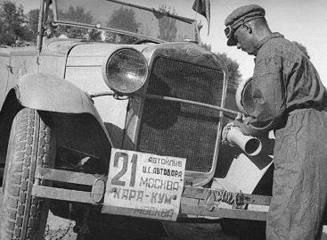 Каракумский автопробег 1933 года