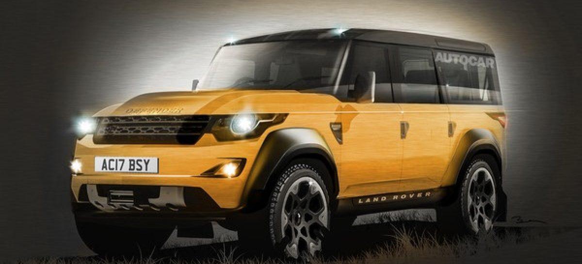Новый Land Rover Defender – со внешностью пока прокол