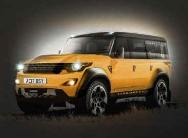 Новый Land Rover Defender — со внешностью пока прокол