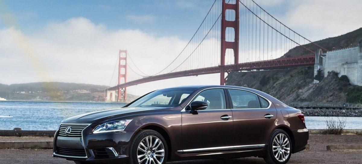 Обновленный Lexus LS стал настоящим интеллектуалом
