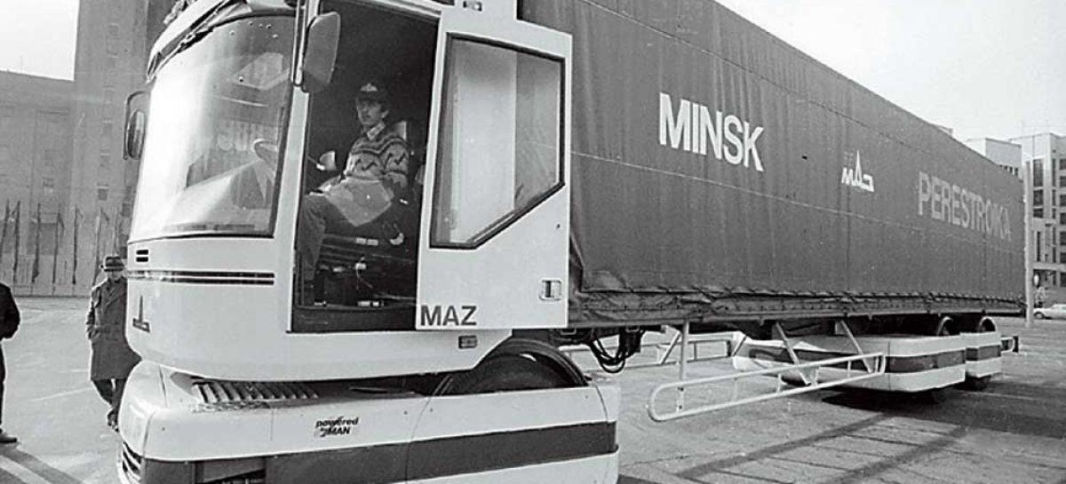 МАЗ-2000 Перестройка получил Золотую медаль на Парижском автосалоне