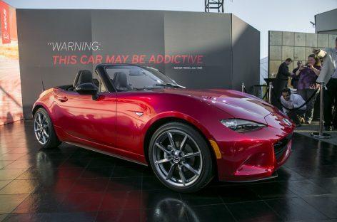 Mazda Miata MX-5 попала в книгу рекордов Гинесса